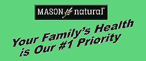 Mason Naturals Full Line Fresh Stock